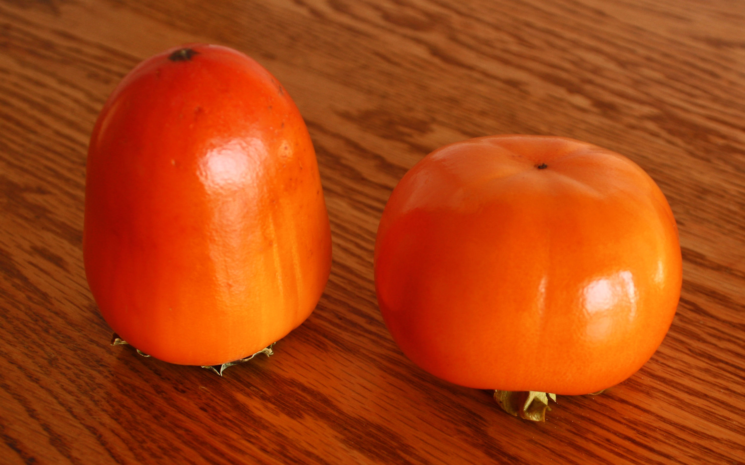 Fuyu Persimmon on the Fuyu Persimmons
