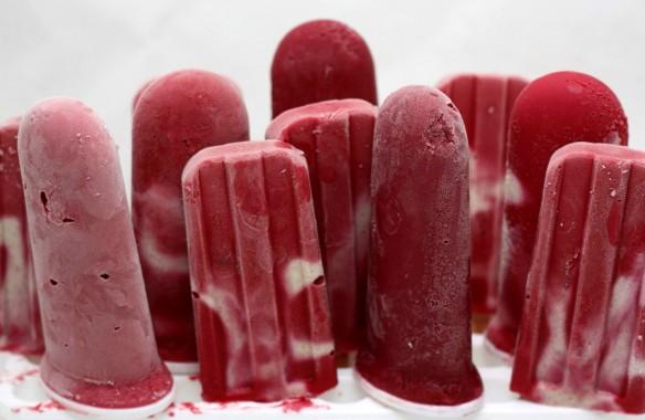 raspberry pops